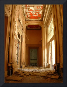 Decayed Grandeur at Lennox Castle