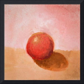 Red Sphere Still Life