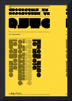 Bkus Typeface Poster