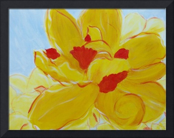 Variations on a theme of double ruffle daffodil II