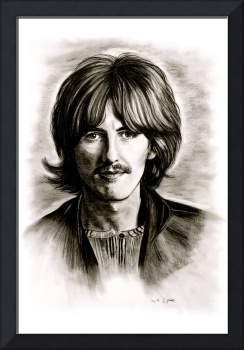 George Harrison In Black And White
