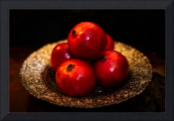Bowl of Pomegranates