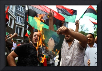 Protest of Libya