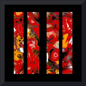 abstract-red-black-panels