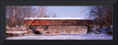 Cox Ford Covered Bridge Parke Co IN