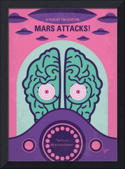 No1178 My Mars Attacks minimal movie poster