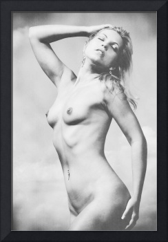 Vintage Black and White Nude
