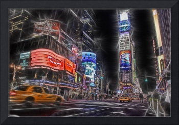 night on Times Square