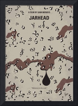 No045 My Jarhead minimal movie poster