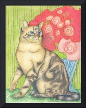 Cat Art Love, Cat Art Print, Cat Art, Cat Artists,
