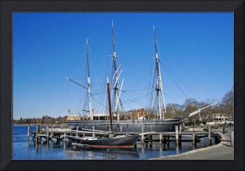CharlesWMorgan,and ReginaM at Mystic Seaport