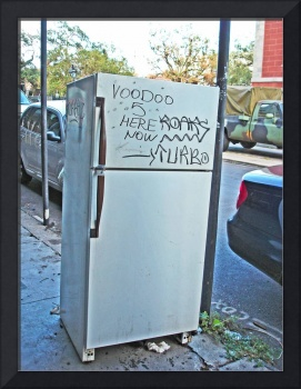Refrigerator Detritus, French Quarter, New Orleans