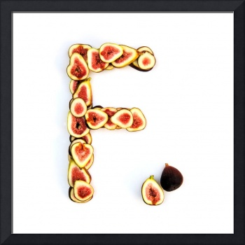 Kitchen Alphabet. Letter F.