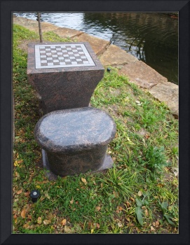 Chess by a Pool