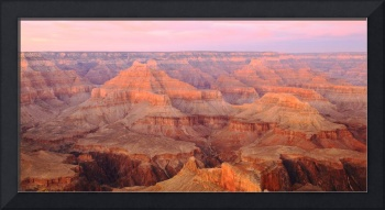 Pastel Sky over the Grand Canyon
