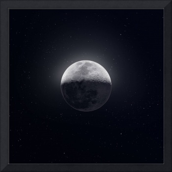 Our Moon with Earthshine