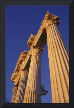 Classical Column, Low Angle View, Turkey