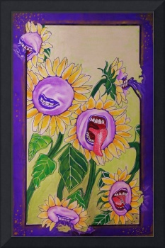 Screaming Sunflowers