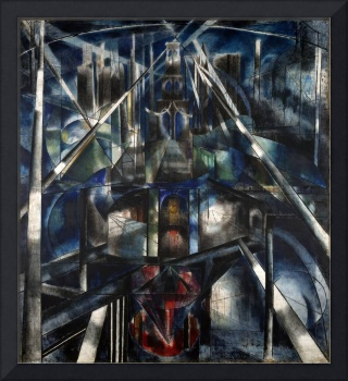Brooklyn Bridge by Joseph Stella (1920)