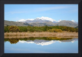 View of Tapi - Awatere Valley in NZ