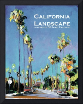 California Landscape Poster Print- Panorama Street