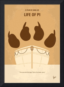 No173 My Life of Pi minimal movie poster