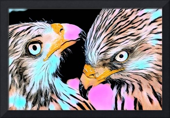 Eagles Pop Art Comic