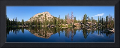 High Mountain Lake Panorama