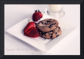 Cookies and Strawberry