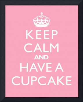 Keep Calm and have a cupcake PINK LEMONDADE
