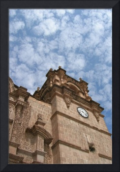Clouds over Puno Cathedral