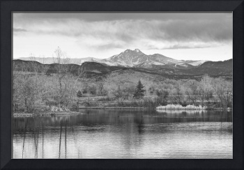 Longs Peak and Mt Meeker Sunrise at Golden Ponds B