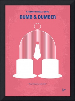 No241 My Dumb & Dumber minimal movie poster