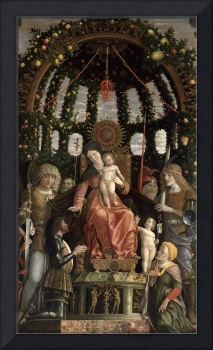 The Virgin of Victory by Andrea Mantegna