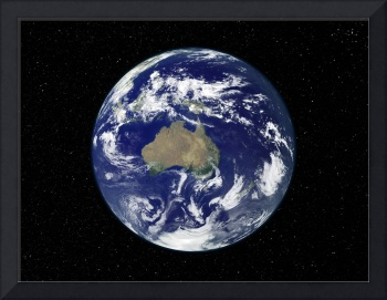 Full Earth centered on Australia and Oceania.