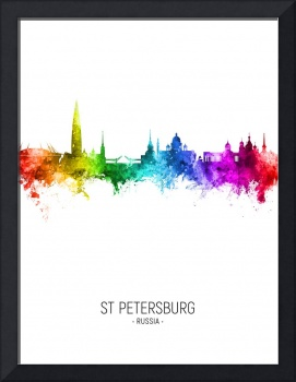 St Petersburg Russia Skyline