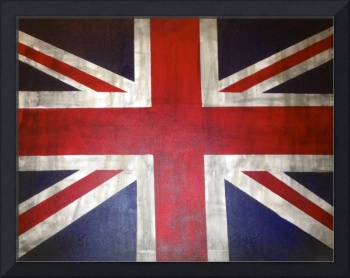 A Rustic UK/ British Flag