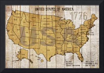 ORL-2895-MAP OF USA