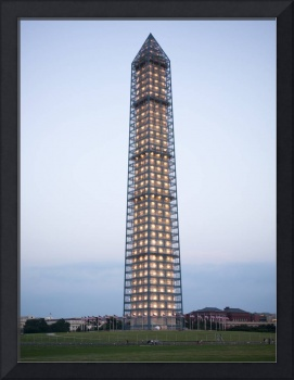 Washington Monument twilight