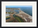 Ridgevle Beach Aerial at Chatham, Cape Cod by Christopher Seufert