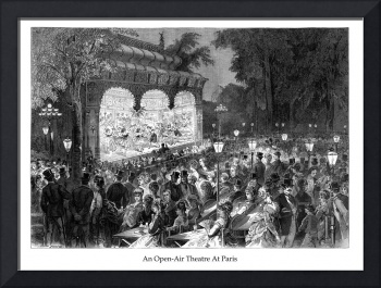 An Open-Air Theatre At Paris