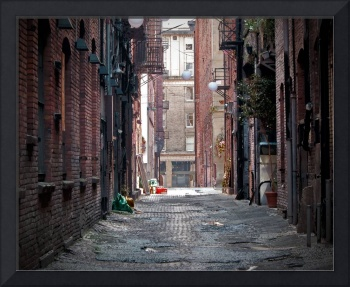 Urban Landscape2:  The Alley
