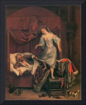 The Seduction by Jan Steen