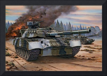 Russian T 80 Tanks In Action 3