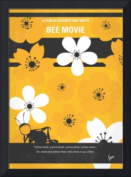 No687 My Bee Movie minimal movie poster