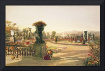 The Parterre, Trentham Hall Gardens, pub. by Thoma