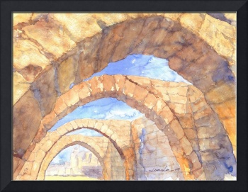 Crusader Arch at Caesarea