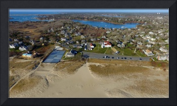 Chatham Lighthouse Aerial