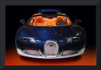 Bugatti luxury sport car