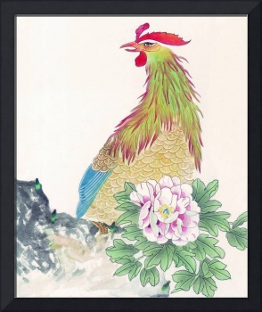 Chicken and Flower